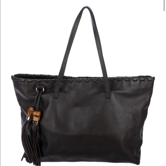7a0e154f6604 Gucci Bags | Bamboo Tassel Tote | Poshmark